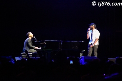 John Legend and Taurrus Riley @ Jamaica Jazz & Blues 2013