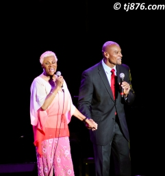 Dionne Warwick and Son @ Jamaica Jazz & Blues 2013