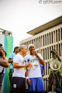 Asafa Powell at Sigma Corporate Run 2013