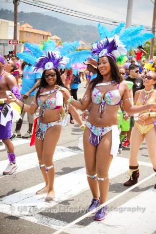 tj876 Jamaica Carnival Road March 2013-19