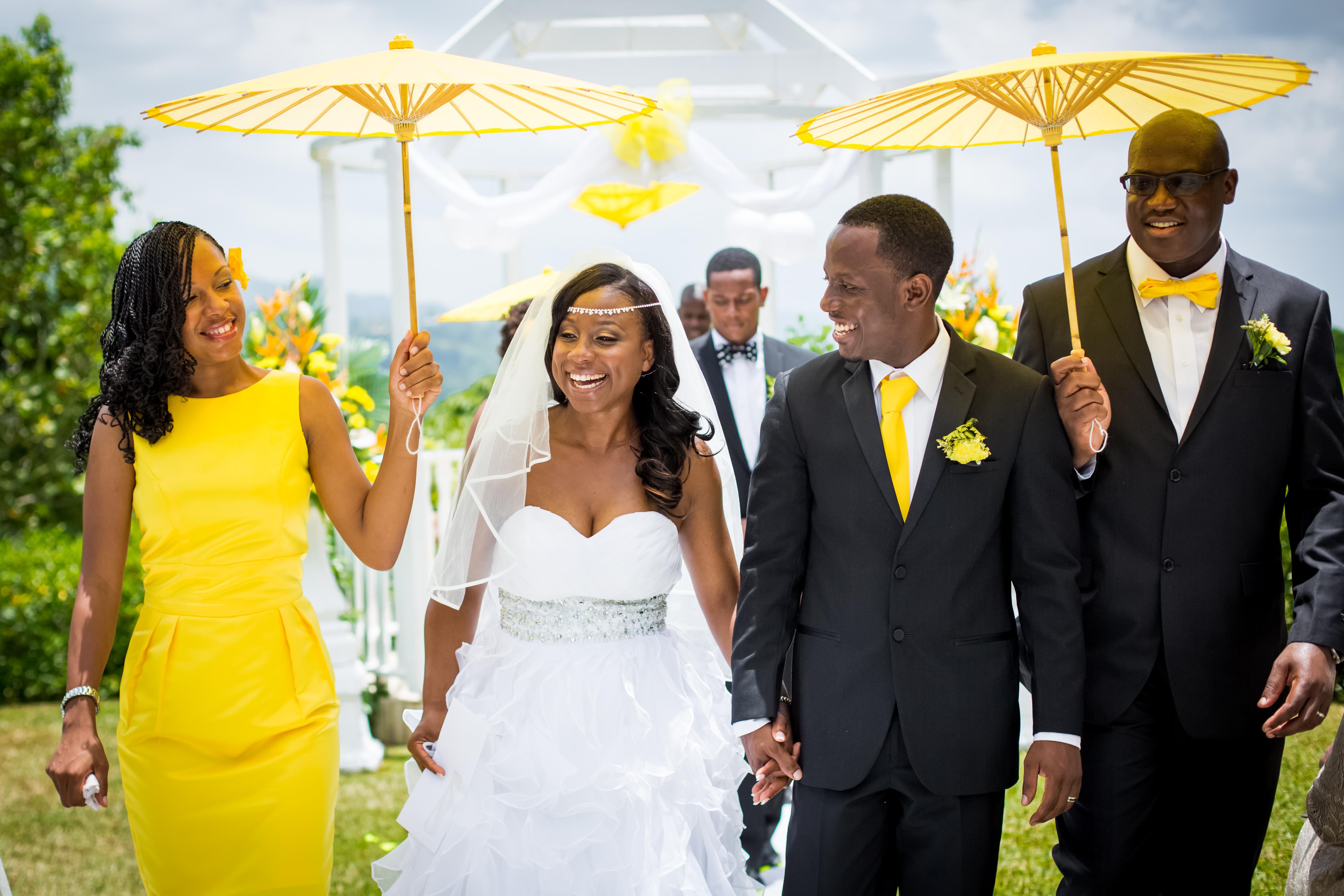 Garden Weddings In Jamaica - Garden Ftempo
