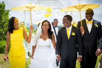 Struan Castle Garden Jamaica Wedding