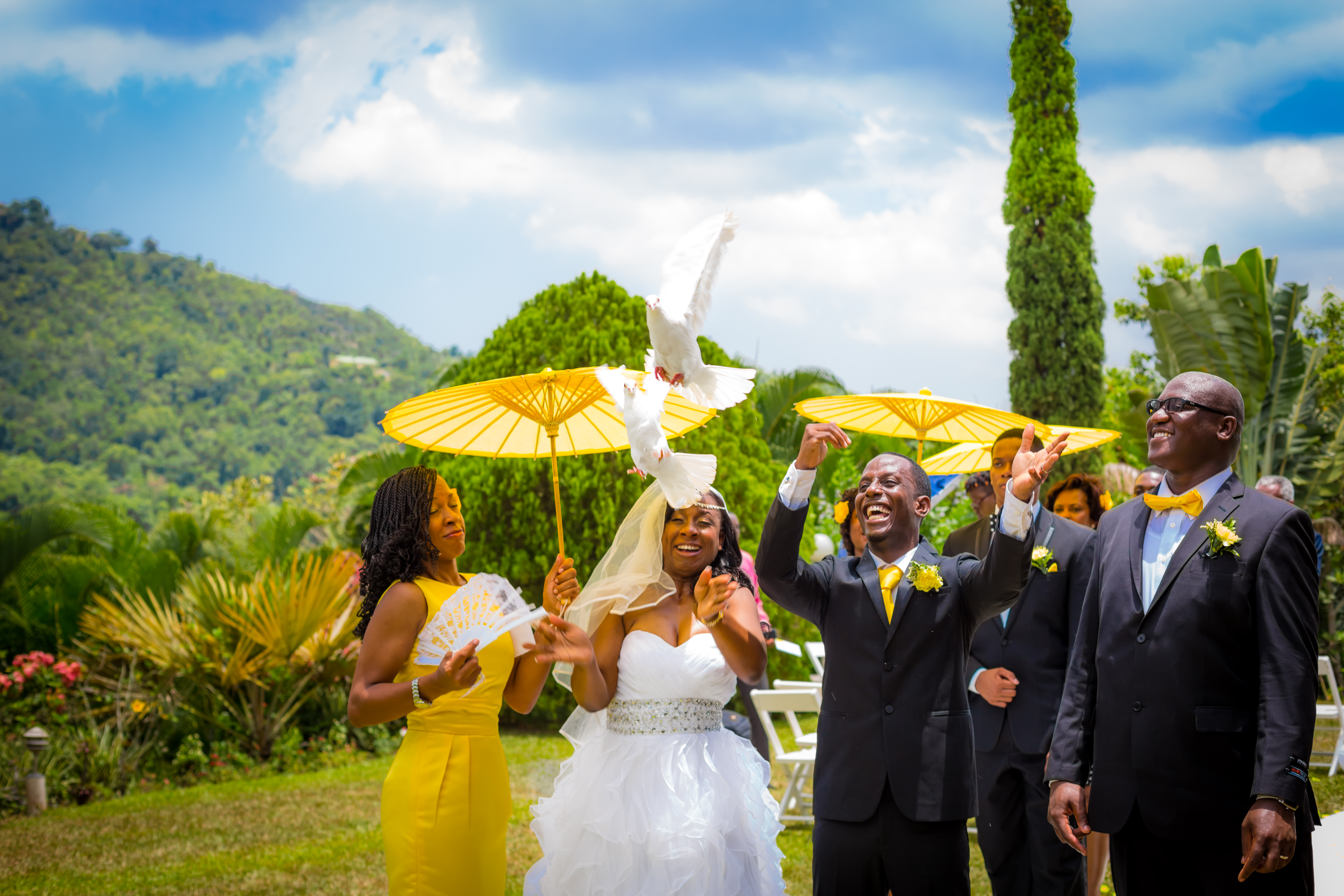 Wedding U2013 Struan Castle Garden U2013 Tj876 Jamaican Lifestyle Photography