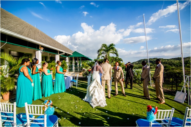 tj876 - Caymanas Golf Club Wedding