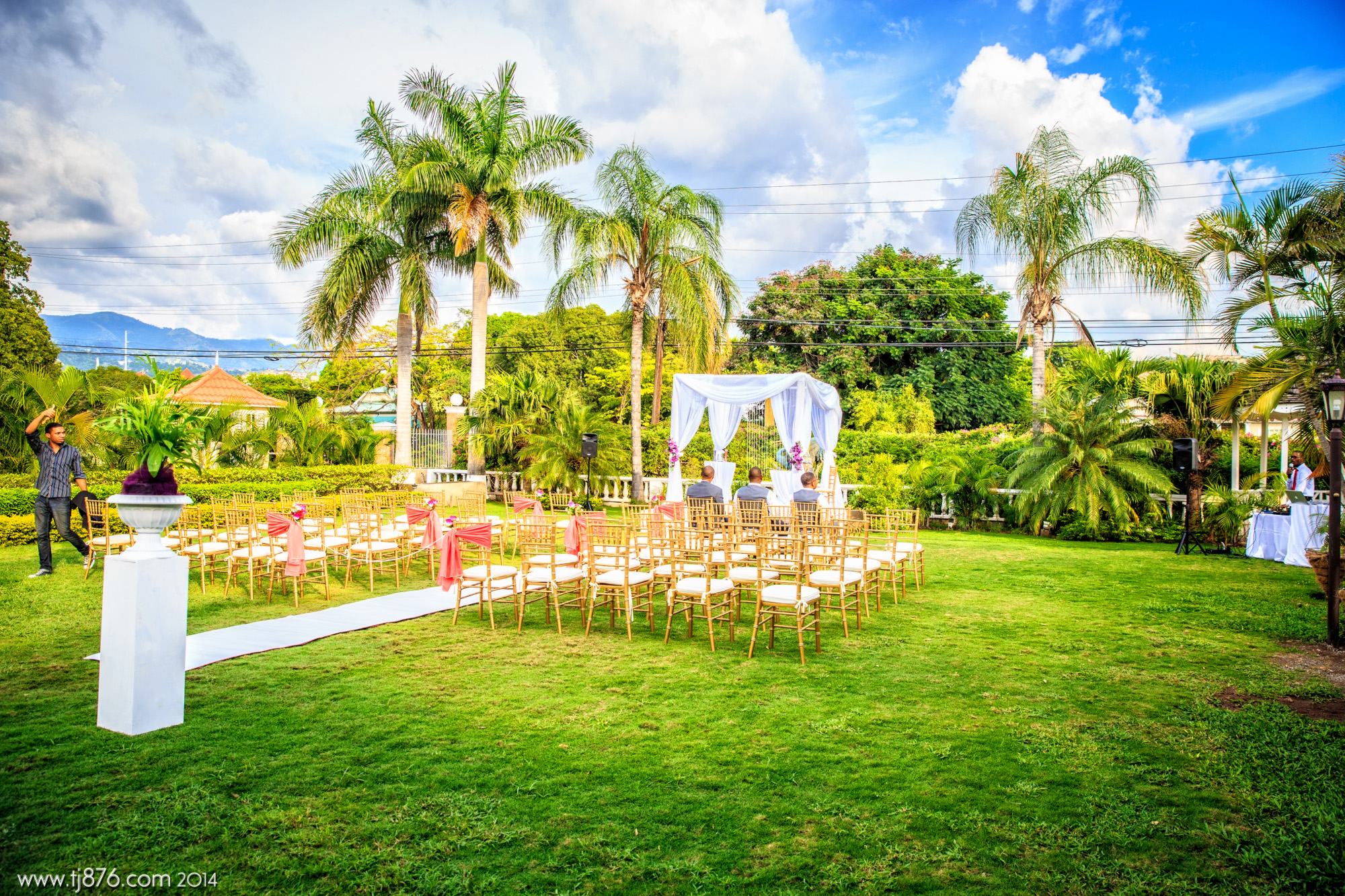 Wedding Eden Gardens Resort Spa Tj876 Jamaican