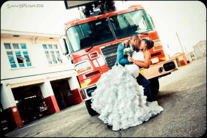 Fire Truck Wedding