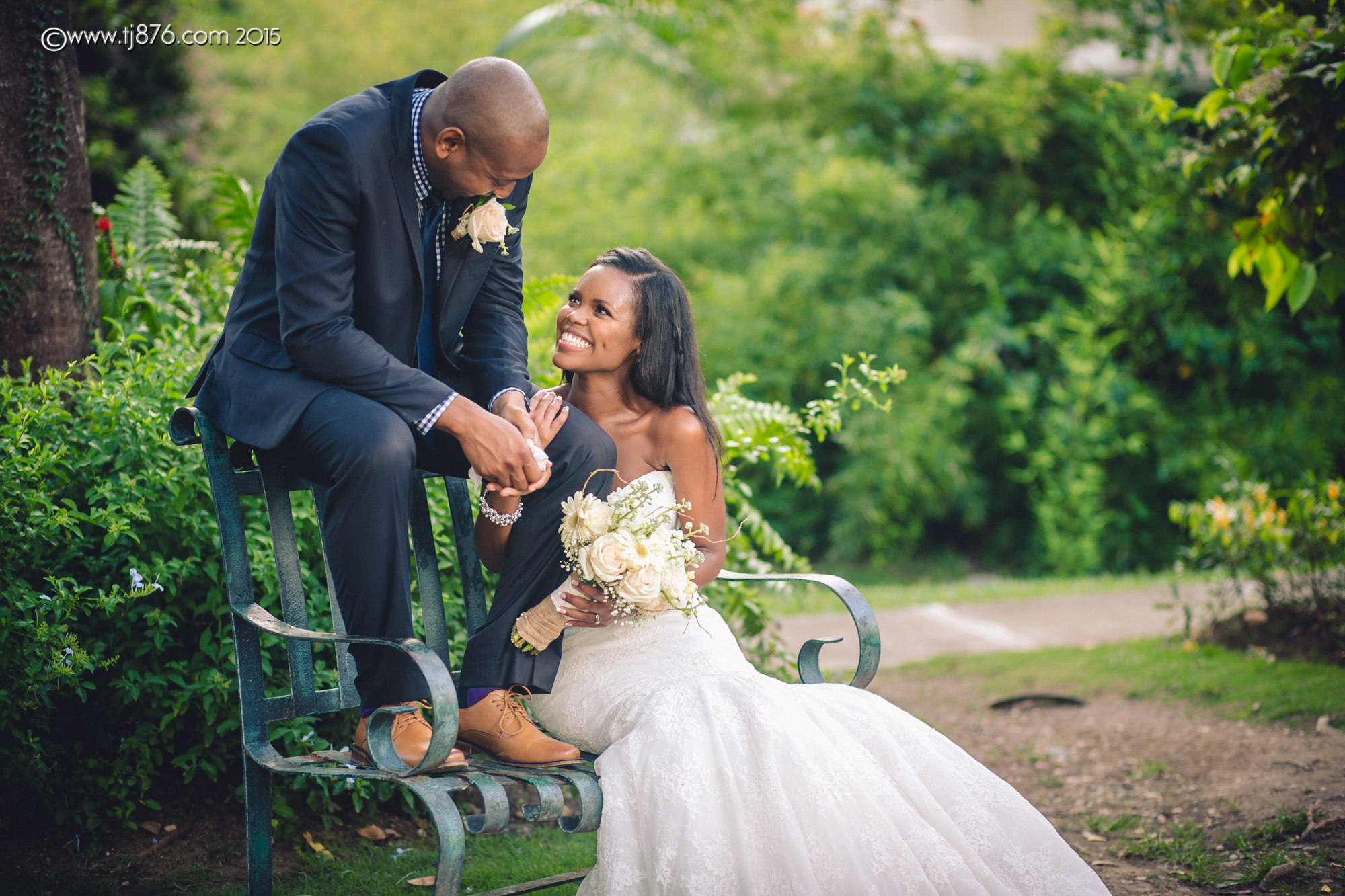 Hope Gardens Jamaica Wedding Tj876 Jamaican Lifestyle