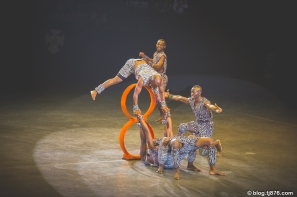The Simba Zambezi Acrobats from Nairobi, Kenya
