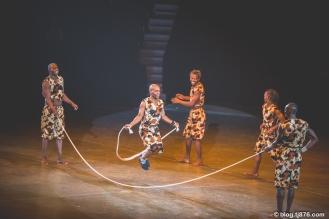 The Simba Zambezi Acrobats from Nairobi, Kenya