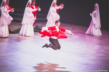 """The State Academic Ensemble of Folk Dance of Adygea, """"Nalmes"""", from Russia"""