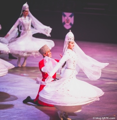 "The State Academic Ensemble of Folk Dance of Adygea, ""Nalmes"", from Russia"