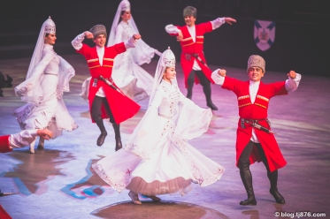 "The State Academic Ensemble of Folk Dance of Adygea, ""Nalmes"", from Russia at The 2018 Nova Scotia International Tattoo."