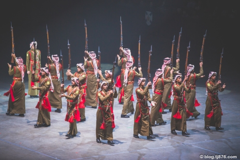 Jordanian Armed Forces Royal Guard Silent Drill Team