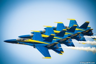 U.S. Navy Blue Angels F/A-18 Hornet
